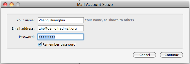 Setup Thunderbird: POP3/IMAP, SMTP and global ldap address book